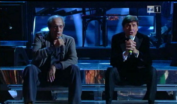 Celentano morandi_sanremo2012_finale