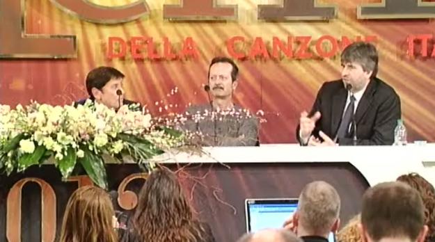 Sanremo 2012, Celentano nella prima serata, a rischio Luca Bizzarri