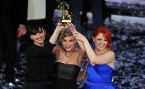 Sanremo 2012, vincono le donne (e i talent)