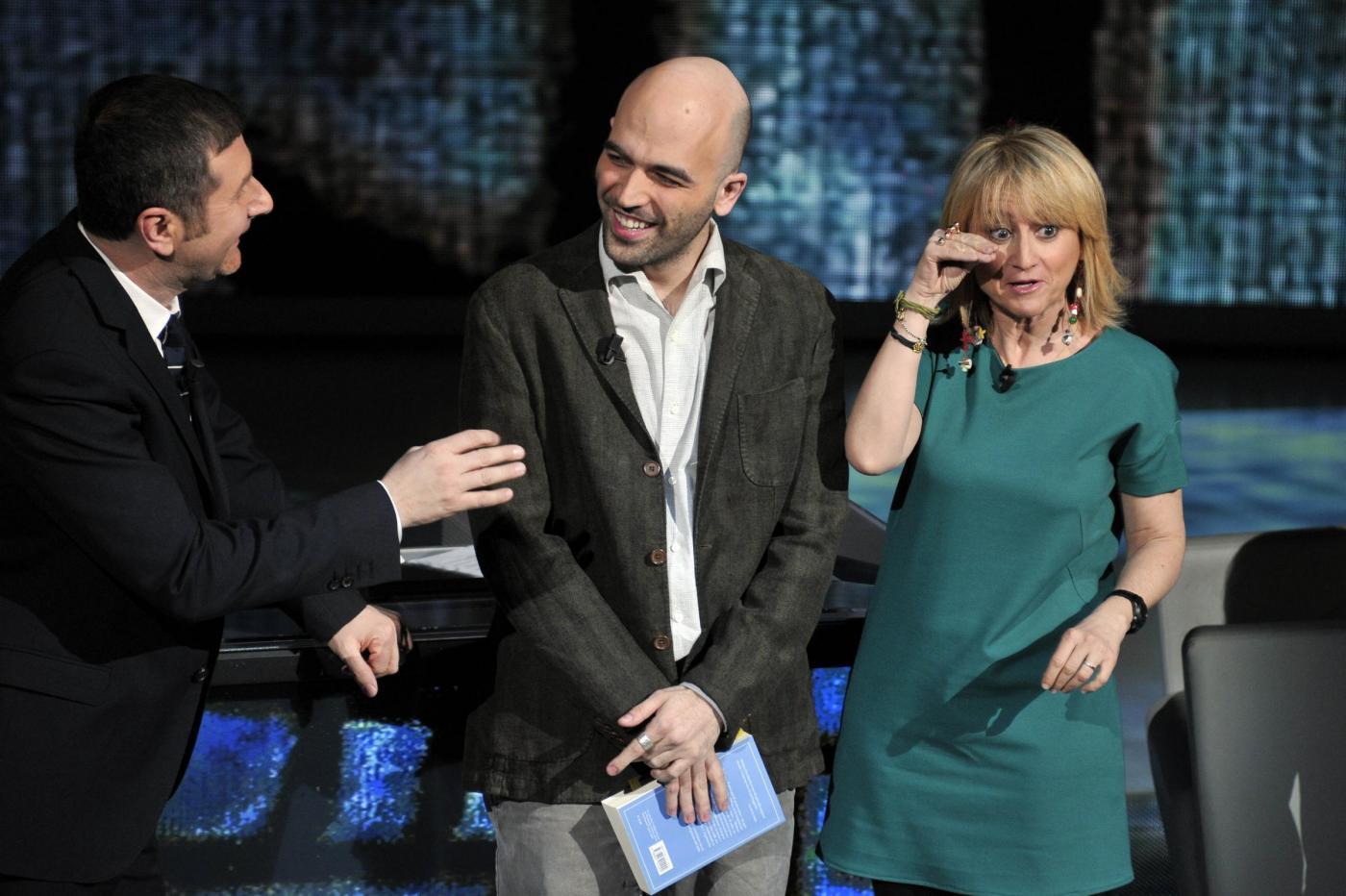 Che Tempo Che Fa, 5/2/12: i video di Roberto Saviano e Luciana Littizzetto