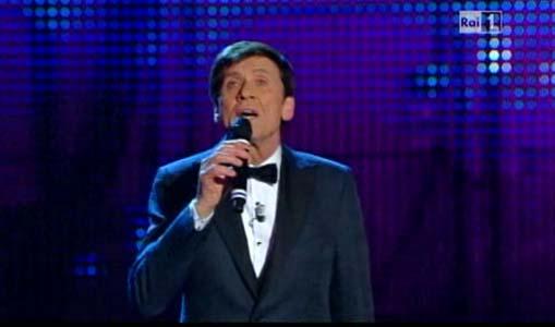 Gianni Morandi canta_terza serata_sanremo2012