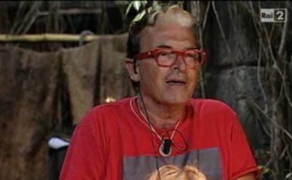 Cristiano Malgioglio lascia l'Isola dei Famosi 2012 per colpa di Mariano Apicella