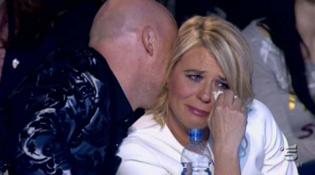 Ascolti tv sabato 25 febbraio 2012: Italia's Got Talent torna 'umano'