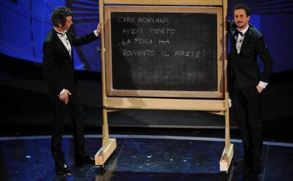 Sanremo 2012, vince 'la foca'