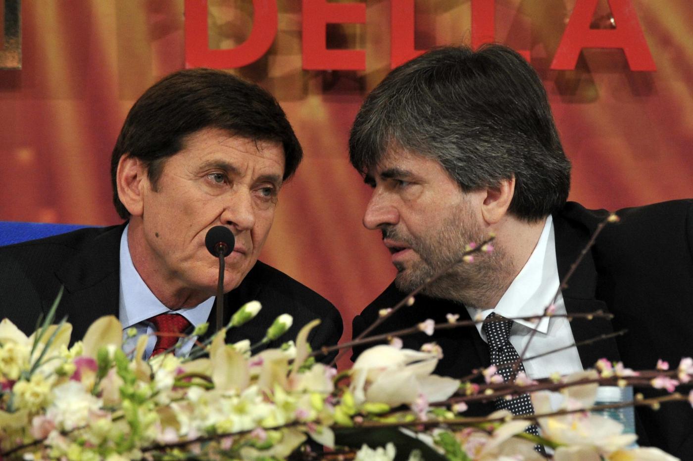 Sanremo 2012, live conferenza stampa: Ivana c'è, Celentano tornerà, Mazzi lo esalta, Morandi 'mette al posto suo' Marano