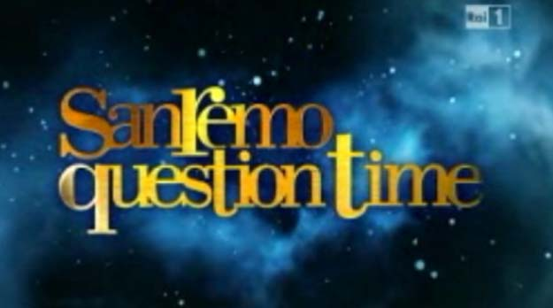 Sanremo 2012 Question Time (Sala Stampa) cancellato dalla Rai