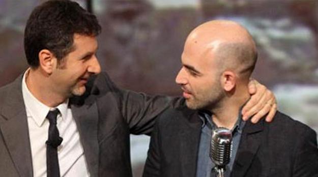 Fazio Fazio e Roberto Saviano di nuovo insieme su RaiTre