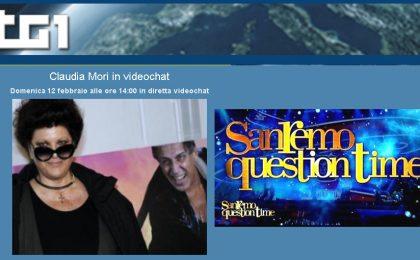 Sanremo 2012 online col Tg1: sul web il Question Time