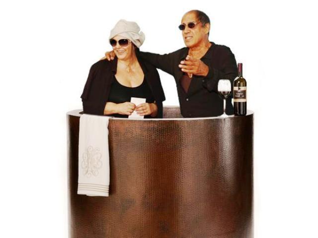 Sanremo 2012, il cast nella vasca da bagno del tempo - Televisionando