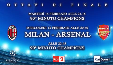 Programmi tv stasera, oggi 15 febbraio 2012: Sanremo 2012, Milan-Arsenal, Uno Bianca