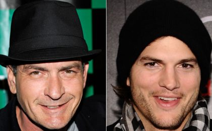 Charlie Sheen: 'Two and a Half Men sta andando in malora e Ashton Kutcher fa schifo, meglio chiudere'
