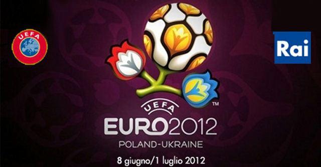 Europei di Calcio 2012 in tv: la programmazione di Rai Uno e Rai Due