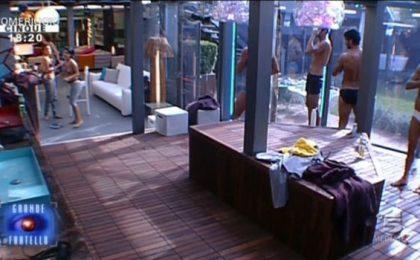 Grande Fratello 12, live della 16ma puntata: Amedeo fuori con il televoto, torna da Nathalie