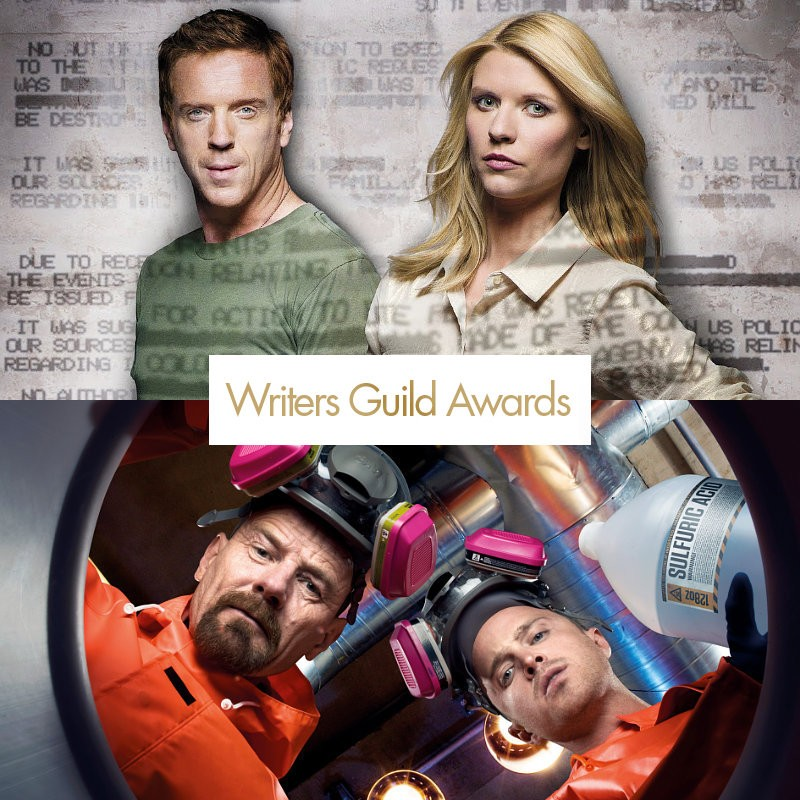 Writers Guild Awards 2012, trionfano Breaking Bad, Modern Family e Homeland