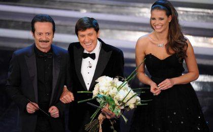 Sanremo 2012, la finale live: Celentano fischiato, Luca e Paolo umiliano la Rai. Vince Emma