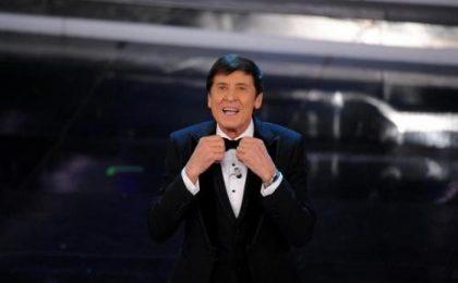 Sanremo 2012, live prima serata: gara sospesa per guasto tecnico, Luca e Paolo Uomini Soli, Celentano predicatore stanco