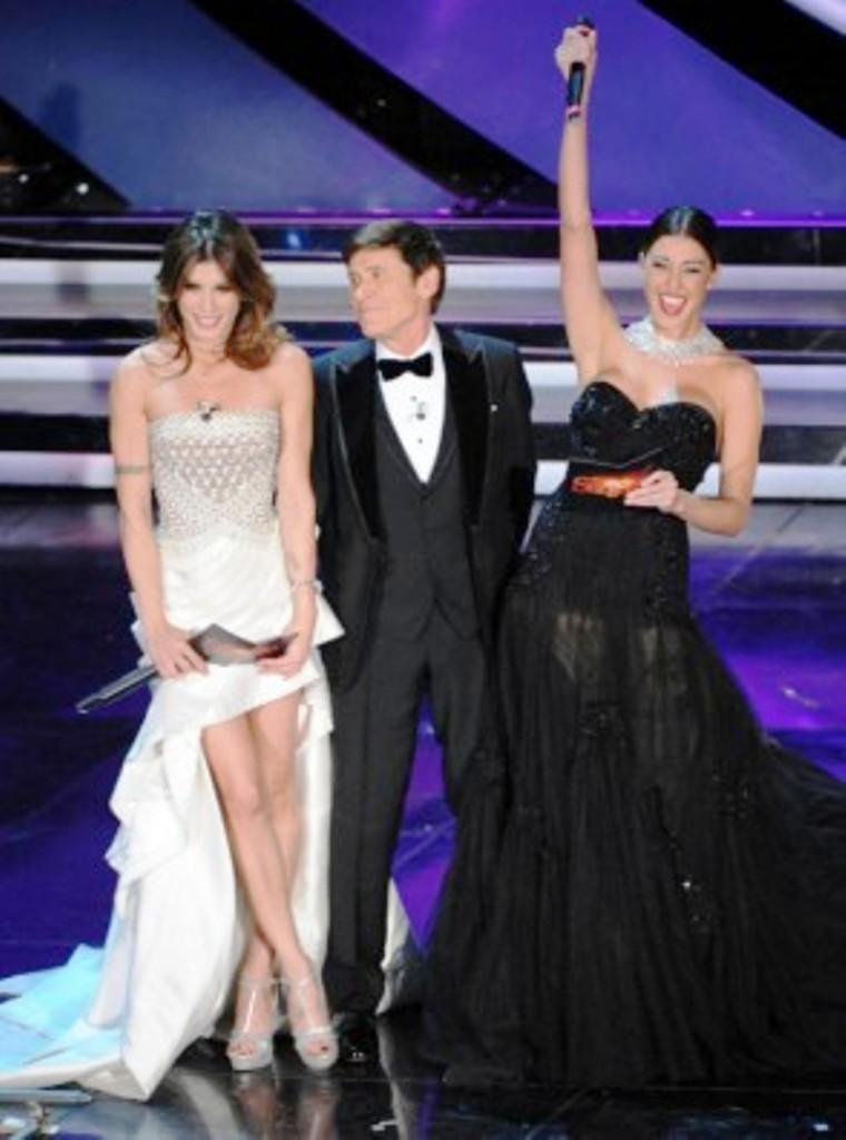 Sanremo 2012 ascolti prima serata: quasi 13milioni, sfiorato il 50% di share