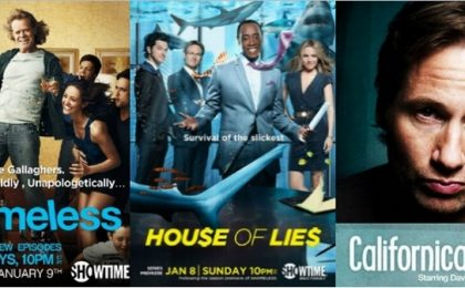 Showtime rinnova Shameless, Californication e House of Lies