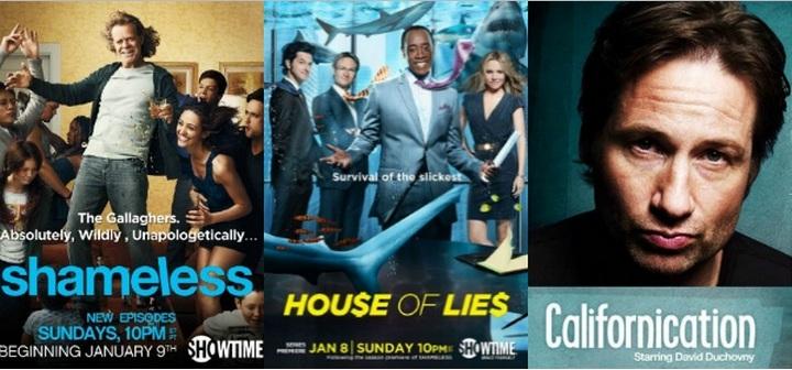 Showtime rinnova Shameless, Californication e House of Lies