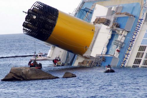 Tragedia della nave da crociera Concordia, le false vittime scovate da Striscia la Notizia