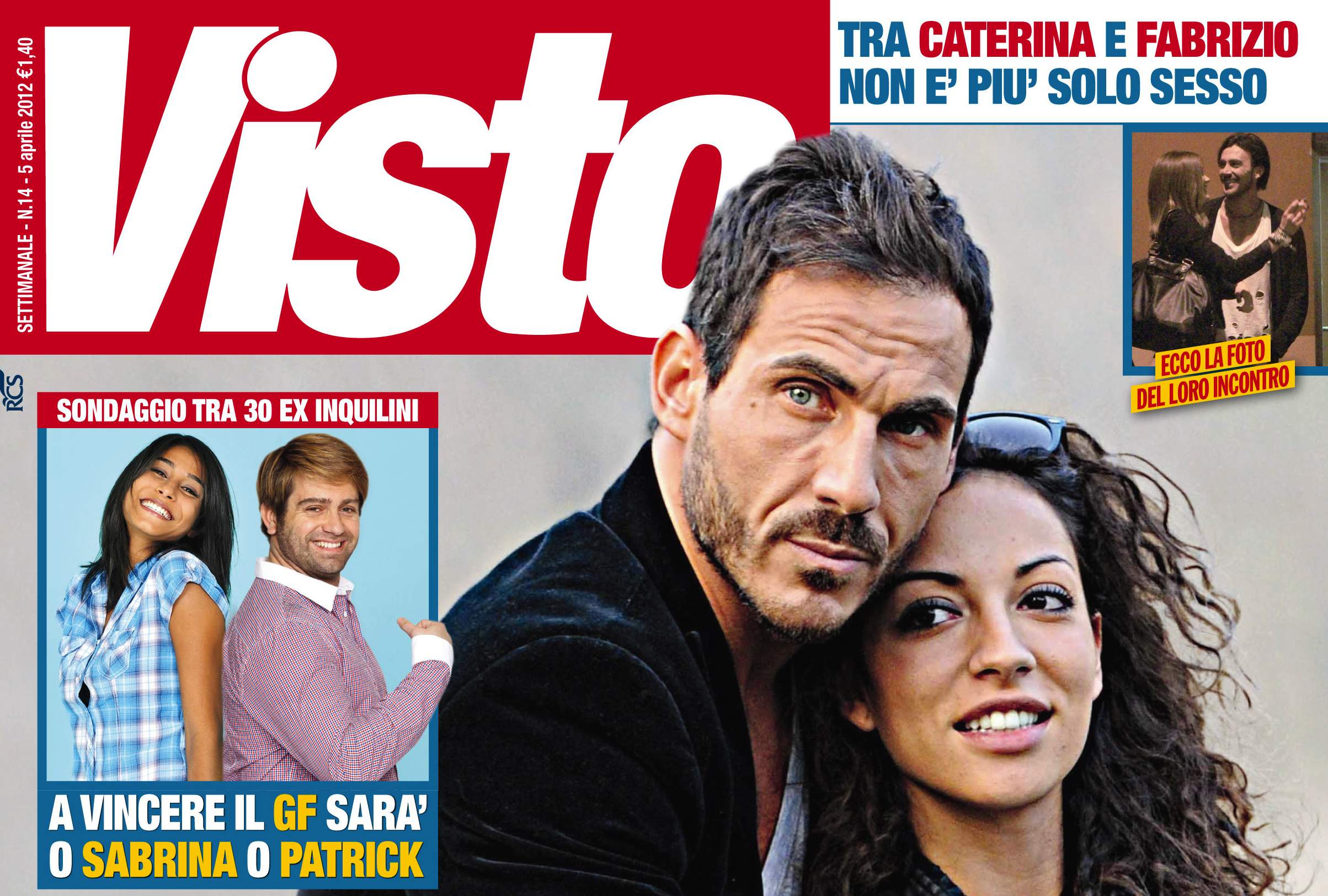 Grande Fratello 12, nasce l'amore fra Caterina e Fabrizio? Mentre fra Enrica e Luca…