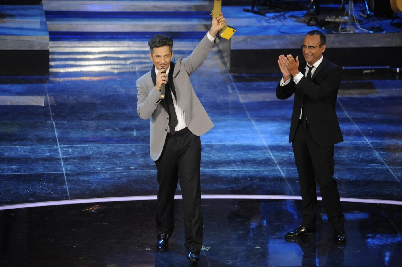 Ascolti tv domenica 11 marzo 2012: il Premio TV con Fiorello mattatore batte tutti