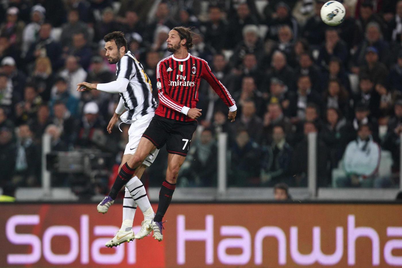 Ascolti tv martedì 20 marzo 2012: Juventus-Milan vola a oltre 9 mln