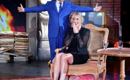 Kate Winslet si racconta a Piero Chiambretti: 'L'Oscar? Lo tengo dietro il water'