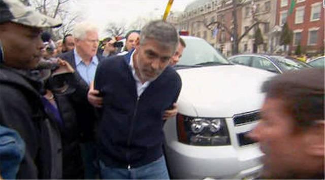 george clooney foto arresto