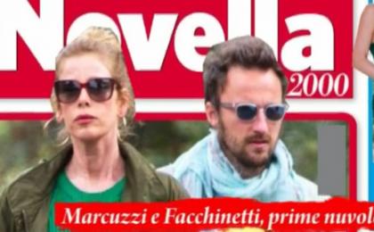 Aria di crisi fra Alessia Marcuzzi e Francesco Facchinetti, lei in vacanza solo con i figli