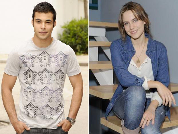 Nasser Salen e Aura Garrido