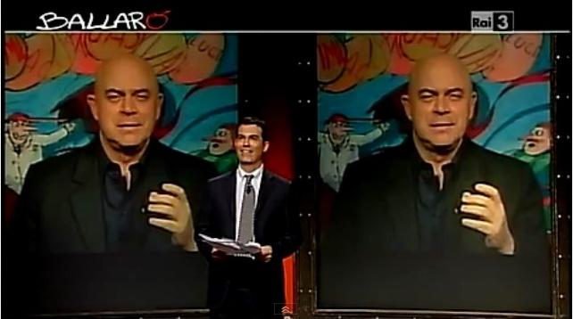 Maurizio Crozza a Ballarò del 3/4/2012: Ma quanti figli ha Bossi? [VIDEO]