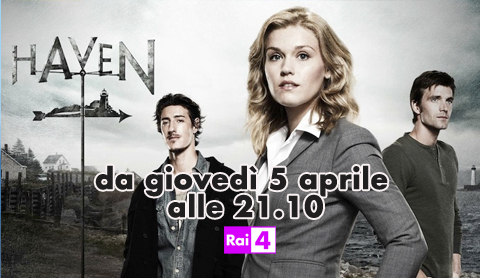 Haven: la seconda stagione da stasera su Rai 4 in prima tv in chiaro