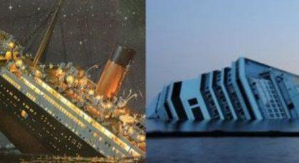 Su La7 Inside The Titanic e Speciale Atlantide Titanic-Concordia, la notte dei naufragi