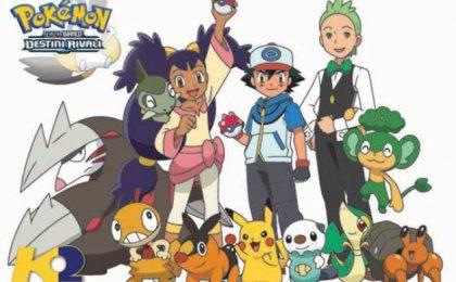 Pokémon Nero e Bianco Destini Rivali: da domani su K2 l'inedita stagione dell'anime
