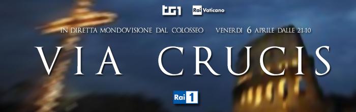 Programmi tv stasera, oggi 6 aprile 2012: Rito della Via Crucis, Robinson, Area Paradiso