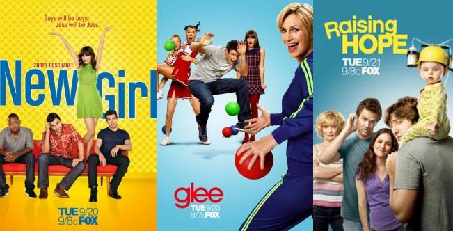 FOX rinnova Glee, Raising Hope e New Girl