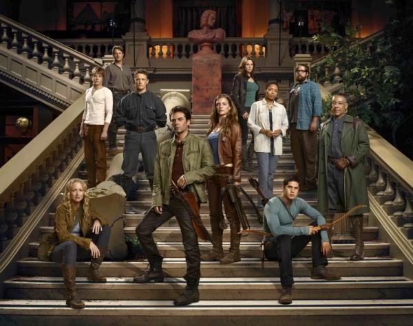 The cast of Revolution NBC