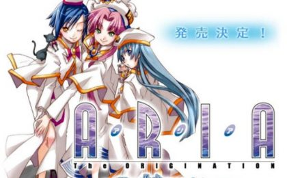 La serie anime Aria The Origination da stasera su Man-Ga