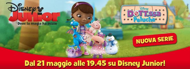 Disney Junior festeggia un anno con la nuova serie Dottoressa Peluche [VIDEO]