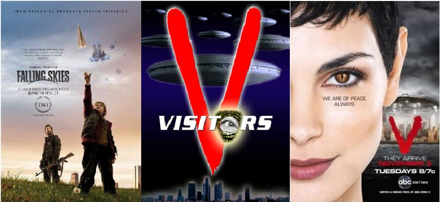 Alieni: stasera su Cielo Falling Skies, dal 22 i Visitors originali su Italia 2 e dal 25 V. su Italia 1