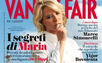 Maria De Filippi: volevo farmi suora e bevevo troppo. Intervista shock su Vanity Fair