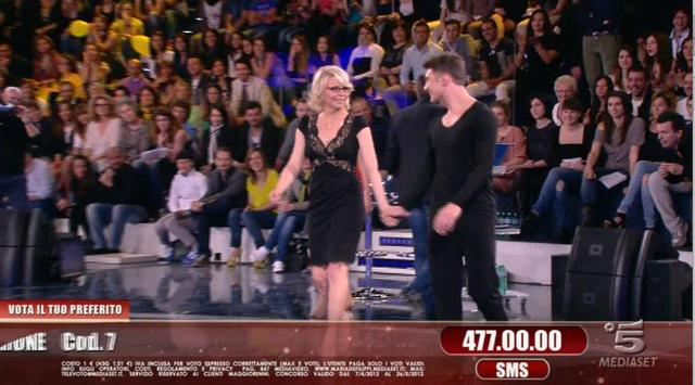 maria de filippi gonna