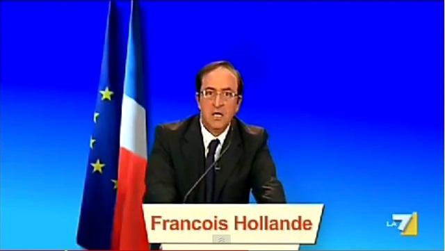 Fardelli di Italialand: Maurizio Crozza torna su La7 nei panni di Francois Hollande [VIDEO]