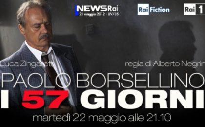 I 57 Giorni: Luca Zingaretti è Paolo Borsellino nel film tv in onda su Rai Uno