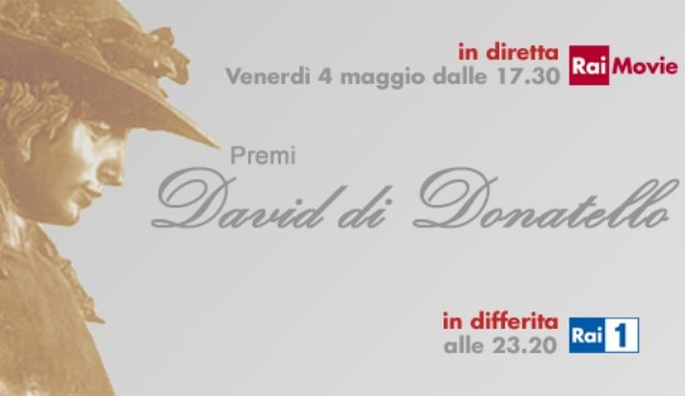 David di Donatello 2012: i vincitori in diretta su Rai Movie e in differita su Rai Uno