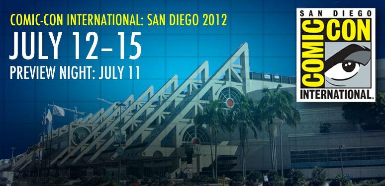 Comic Con 2012, tutte le date, le serie e i protagonisti presenti