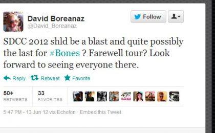 David Boreanaz annuncia l'addio a Bones (e la chiusura della serie)? Hart Hanson risponde