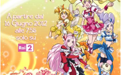 Fresh Pretty Cure 6 su Rai 2 e Naruto Shippuden su Italia 1 al via da domani