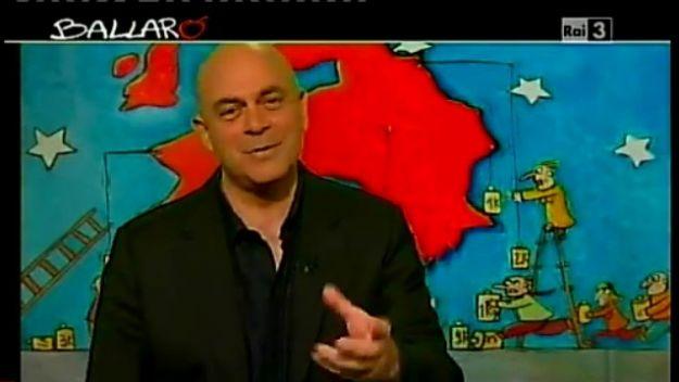 Maurizio Crozza a Ballarò del 12/06/2012 [VIDEO]: tra sport e politica c'è la Germancia